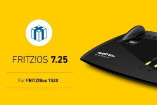 FRITZ!Box 7520 bekommt finales FRITZ!OS 7.25