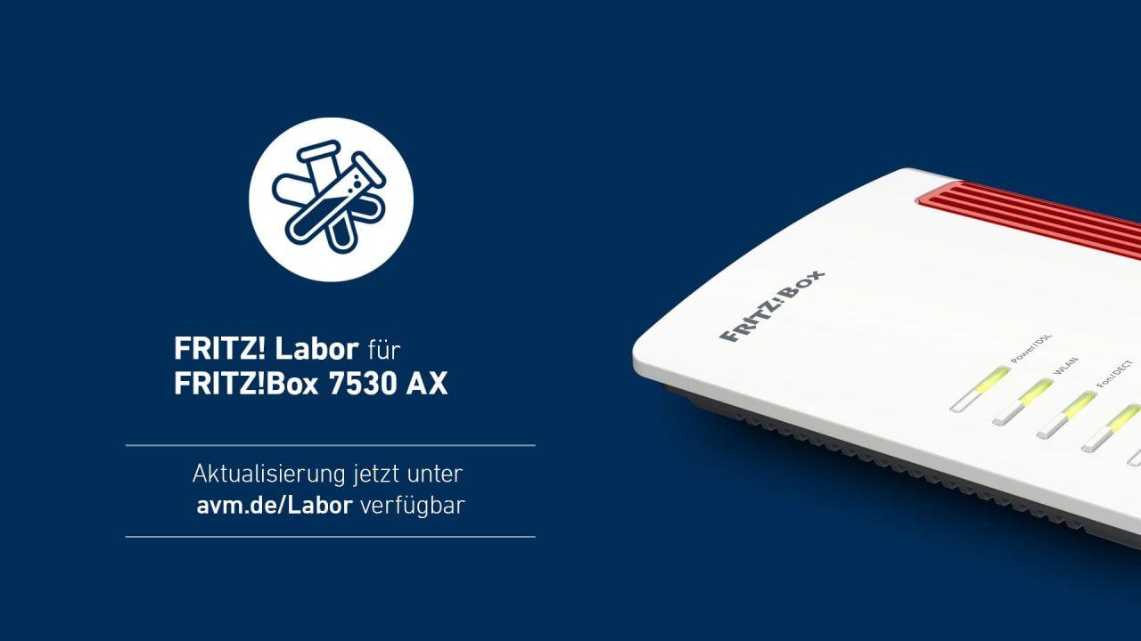 FRITZBox 20 AX mit einem neuen Labor Update   Deskmodder.de