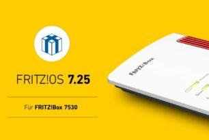 FRITZ!Box 7530: FRITZ!OS 7.25 steht offiziell als Update bereit (Release)