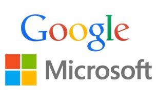 Der Kampf der Giganten hat wieder begonnen – Google vs. Microsoft