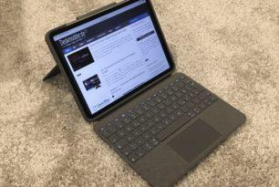 Logitech Folio Touch für iPad Pro ausprobiert
