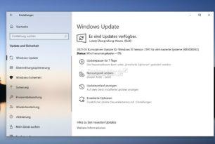 0x800f081f Fehlermeldung durch die KB5000842 für die Windows 10 21H1 19043.906 wurde von Microsoft bestätigt [Workaround]