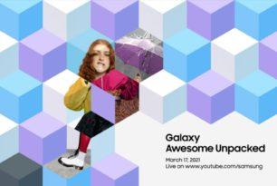 Samsung Unpacked Event am 17.März angekündigt