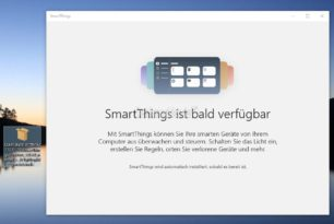 SmartThings Windows als Windows 10 App von Samsung