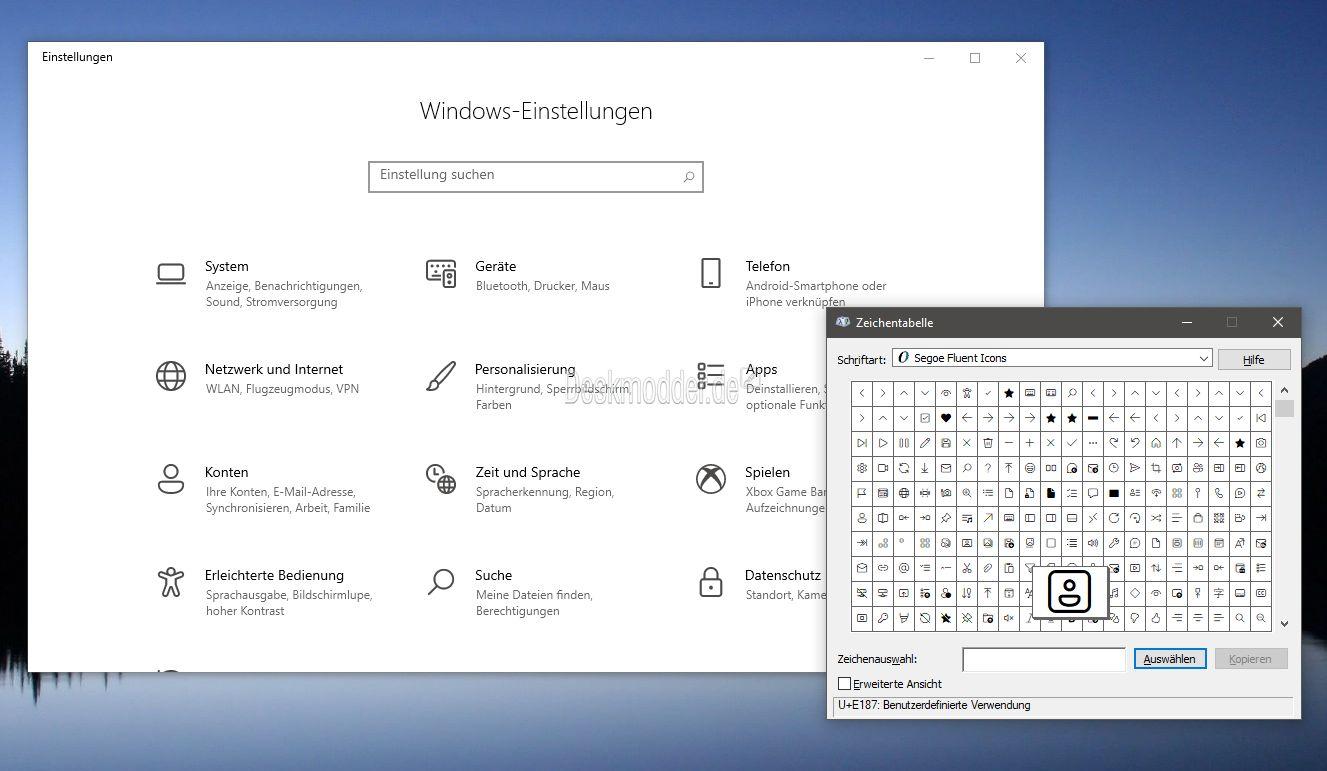 Windows 10 Neue Icons