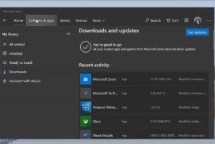 Windows 10 Store App bekommt das Sun Valley Design