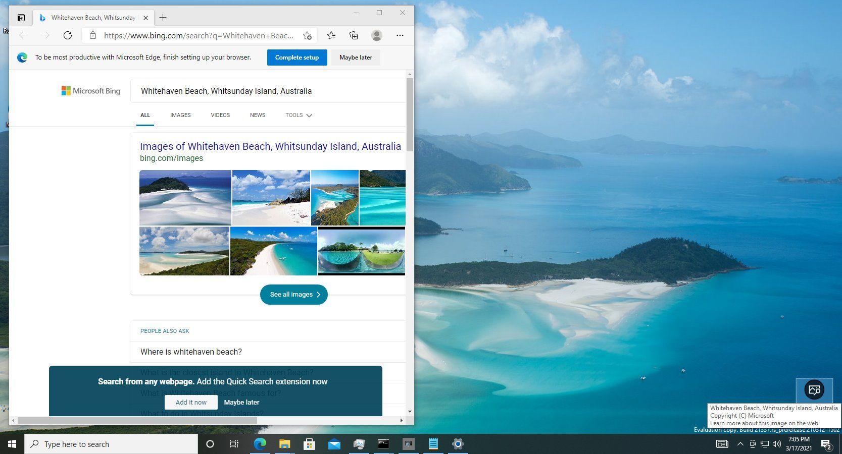 Windows Blickpunkt Als Desktophintergrund