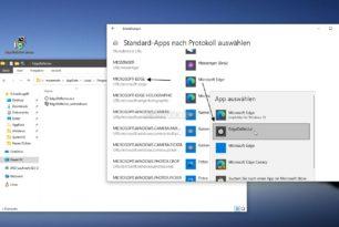 EdgeDeflector – Links aus der Windows 10 Suche oder den News im Standardbrowser öffnen