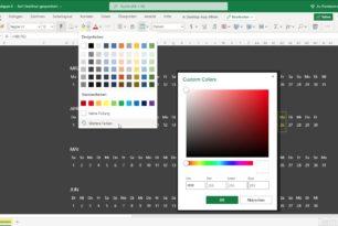 Excel Web (Online) bekommt weitere neue Funktionen spendiert