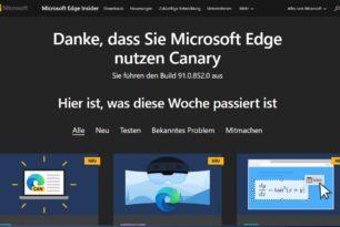 Microsoft Edge bekommt Arbeitsbereiche zum Sortieren von Tabs in einzelnen Gruppen