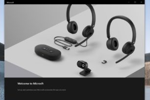 Microsoft Modern Accessories (Lautsprecher, Kopfhörer, Webcam)  Microsoft startet den Verkauf