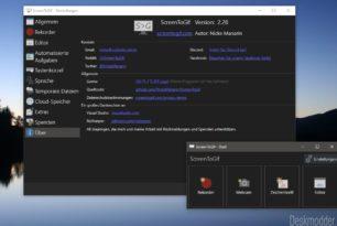 ScreenToGif 2.28 steht mit vielen Veränderungen zum Download bereit