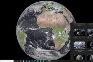 SpaceEye – Live Satellitenbilder als Wallpaper für Windows oder Mac