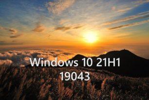 Windows 10 21H1 19043.928 wird die finale Version
