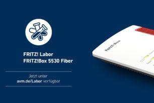 FRITZ!Box 5530 Fiber mit einem neuen Labor Update