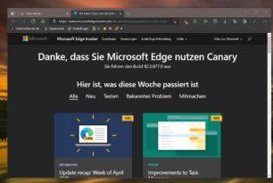 Microsoft Edge: Automatische HTTPS Unterstützung ist nun in der Version 92 enthalten
