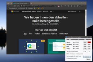 Microsoft Edge 92.0.873.1 – Erste 92er Version im Dev-Kanal erschienen – Beta jetzt 91 (91.0.864.11)