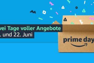 Amazon Prime Day vom 21. bis 22.Juni 2021 angekündigt