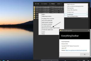 EverythingToolbar 0.7.0 ersetzt jetzt die Windows Suche und viele weitere Verbesserungen als Beta