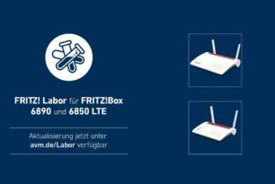 FRITZ!Box 6890 und 6850 LTE mit einem Release Candidate 2 für das FRITZ!OS 7.28