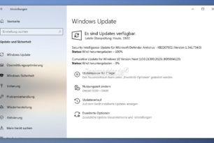 KB5004123 Windows 10 21390.2025 – Das dritte Update im Dev-Kanal