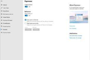PowerToys Awake kommt als neues Tool in der Version 0.39