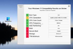 WhyNotWin11 – PC schnell überprüfen, ob Windows 11 installiert werden kann und detaillierte Angaben bekommen [2.Update]