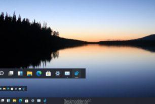 Windows 11 Taskleiste in der Größe ändern ist noch versteckt