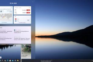 Windows 11 Gadgets werden zu Widgets und kommen später auch von Drittanbietern