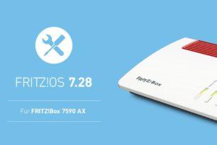 FRITZ!Box 7590 AX bekommt das FRITZ!OS 7.28