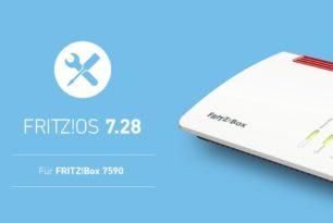 AVM veröffentlicht FRITZ!OS 7.28 als Update für FRITZ!Box 7590