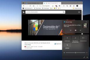 Musik- und Video-Kontrolle nun auch im Info-Bereich von Windows 11 zu finden