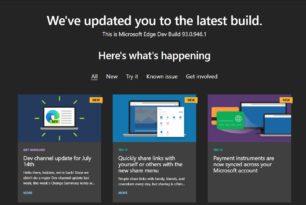 Microsoft Edge 93.0.946.1 ist im Dev-Kanal erschienen