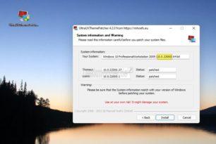 UltraUXThemePatcher 4.2.0 für Windows 11 und Windows 10 21H2