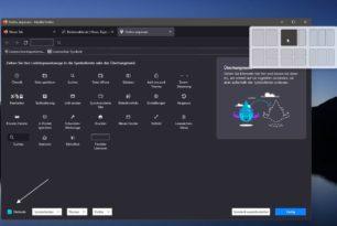 Windows 11 Snap-Layout im Firefox aktivieren