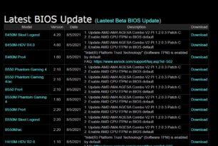 Motherboard Hersteller liefern Bios-Updates aus, die TPM für Windows 11 auf aktiviert setzen