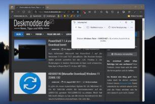 Ausschneiden und Skizzieren wird unter Windows 11 durch das Snipping Tool ersetzt