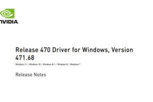 GeForce und Studio 471.68 WHQL Treiber steht zum Download bereit