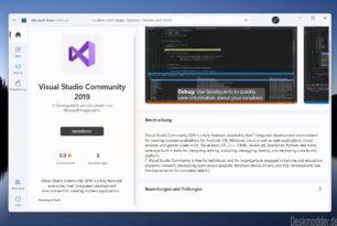 Visual Studio Code und Community 2019 jetzt auch im Microsoft Store (Windows 11)