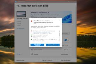 Windows 11 Hardwarevoraussetzungen wurden angepasst – Intel CPUs wurden hinzugefügt