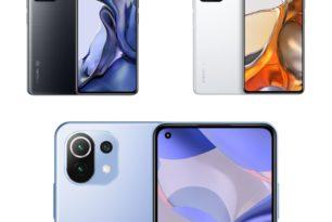 Xiaomi 11T,  Xiaomi 11T Pro & Xiaomi 11 Lite 5G NE offiziell vorgestellt