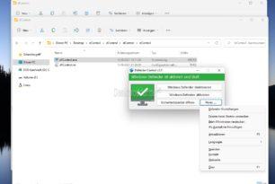 Defender Control 2.0 unterstützt nun auch Windows 11