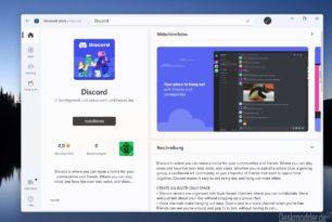 Discord im Microsoft Store – So nach und nach füllt sich der Windows 11 Store mit Win32 Programmen