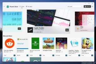 Fluent Store – Store App die auch die Offline-Installer herunterladen kann