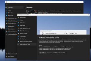 PowerToys 0.46.0 Experimental wieder mit Stummschaltung von Videokonferenzen und mehr