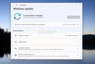 Windows 11 22458 steht für die Insider im Dev Kanal zum Download bereit