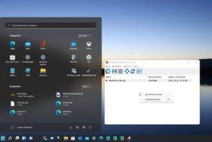 Backup Start Menu Layout 1.5 unterstützt nun auch das Windows 11 Startmenü