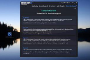DefenderUI – Übersichtliche Microsoft Defender Einstellungen mit mehreren Profilen