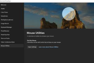 Find My Mouse (Finde meine Maus) kommt in die PowerToys