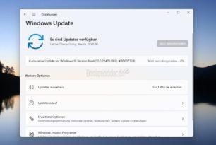 KB5007328 Windows 11 22478.1012 – Microsoft testet ein Update im Dev-Kanal